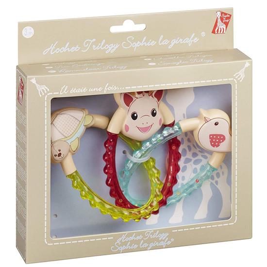 Sophie La Girafe Trilogy Rattle Packaging