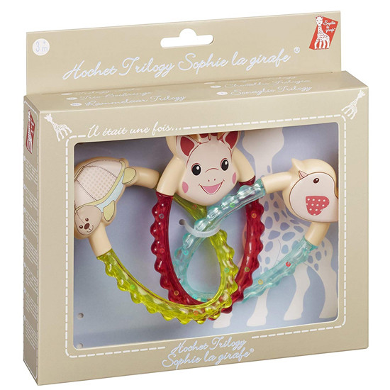 Sophie La Girafe Trilogy Rattle Packaging