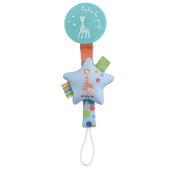 Sophie La Girafe Star Pacifier Holder Product