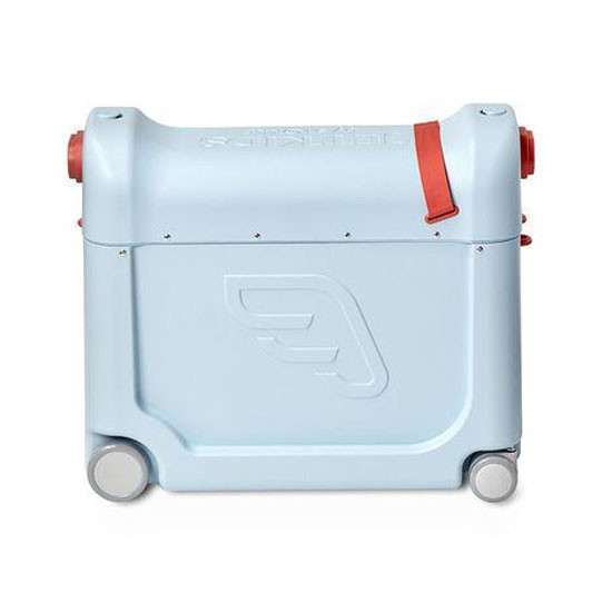 STOKKE JetKids Bed Box - Ride-On Carry-On Suitcase V2 - Blue Sky_thumb1_thumb2