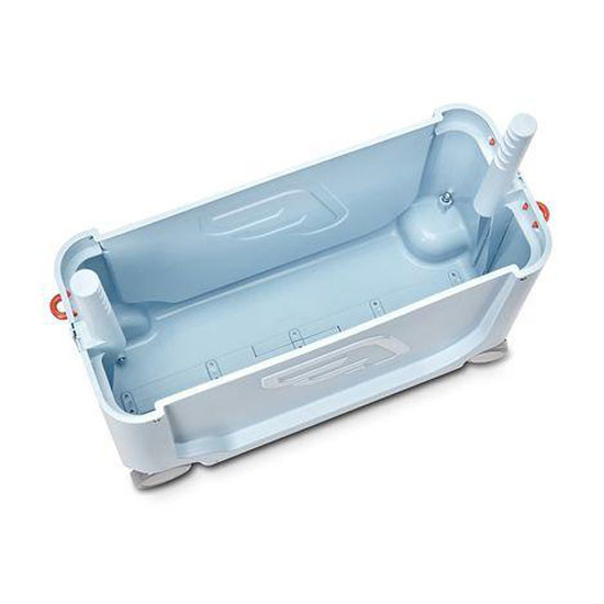 STOKKE JetKids Bed Box - Ride-On Carry-On Suitcase V2 - Blue Sky_thumb5
