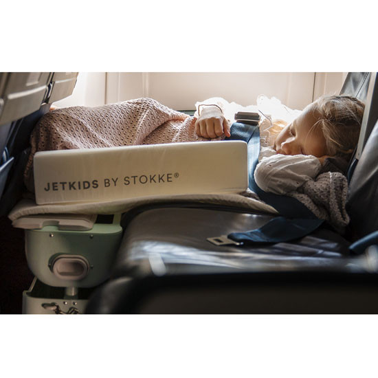 STOKKE JetKids Bed Box - Ride-On Carry-On Suitcase V2 - Blue Sky_thumb_10