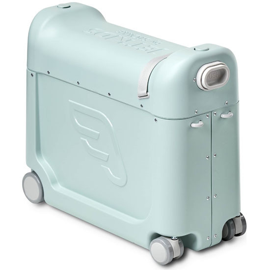 STOKKE JetKids Bed Box - Ride-On Carry-On Suitcase V2 Green Aurora