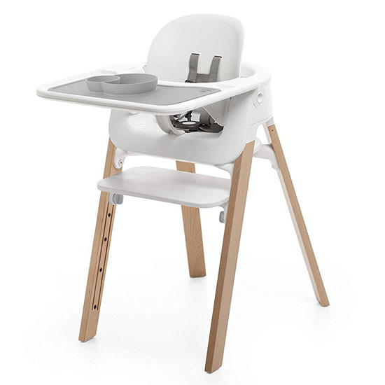 STOKKE EZPZ Placemat for Steps Tray - Grey_thumb1_thumb2