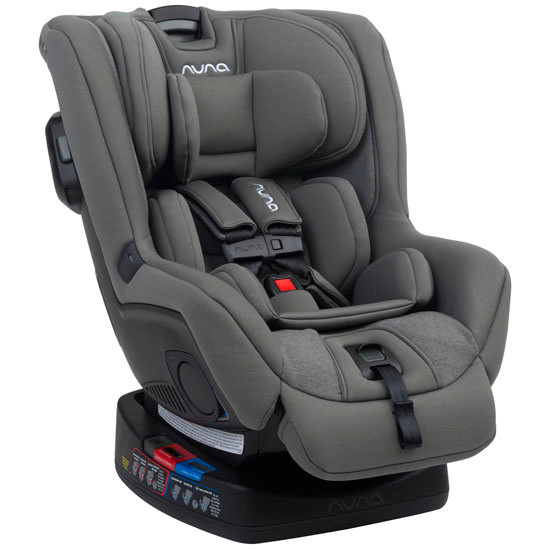 Nuna 2019 RAVA Convertible Car Seat - Granite_thumb1_thumb2