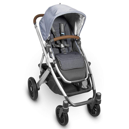 UPPAbaby Reversible Seat Liner - Reed (Denim/Cozy Knit)_thumb1_thumb2