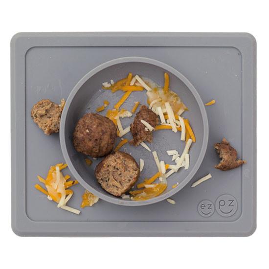 EZPZ Mini Bowl - Grey_thumb3