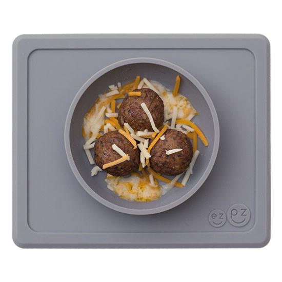 EZPZ Mini Bowl - Grey_thumb4