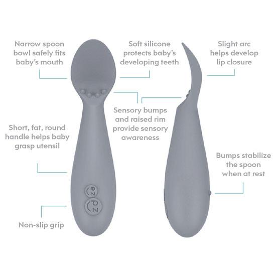 EZPZ Tiny Spoon Twin Pack - Coral_thumb1_thumb2