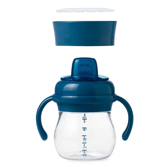 OXO Tot Transitions Soft Spout Training Cup Set 6 oz - Navy_thumb3