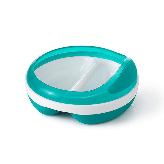 OXO Divided Feeding Dish - Teal_thumb1
