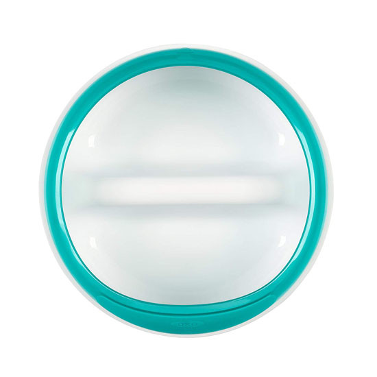 OXO Divided Feeding Dish - Teal_thumb4