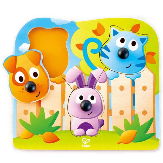 Hape Big Nose Pet Puzzle Toy