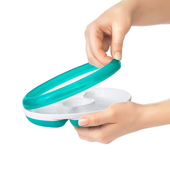 OXO Divided Plate - Teal_thumb4