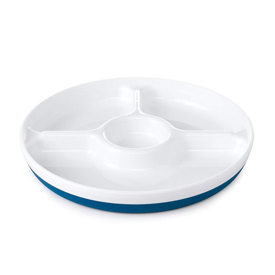 OXO Divided Plate - Navy_thumb1_thumb2