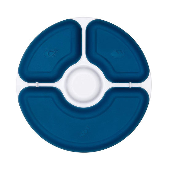 OXO Divided Plate - Navy_thumb4