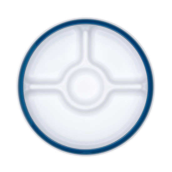 OXO Divided Plate - Navy_thumb5
