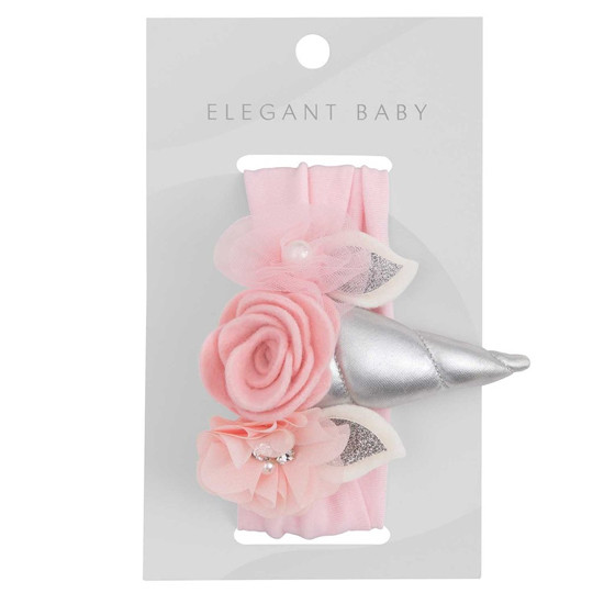 Elegant Baby Headband - Unicorn