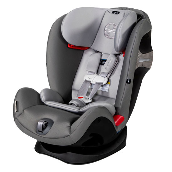 CYBEX Eternis S Convertible Car Seat with Sensorsafe - Manhattan Grey
