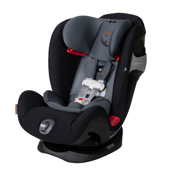 CYBEX Eternis S SensorSafe All-in-One Car Seat Pepper Black