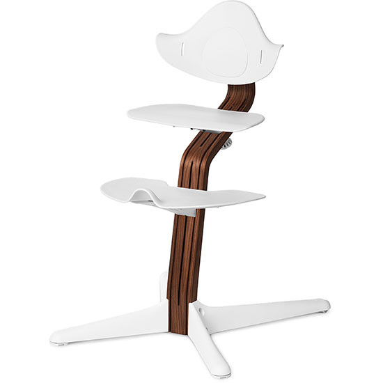 Nomi Chair Walnut White