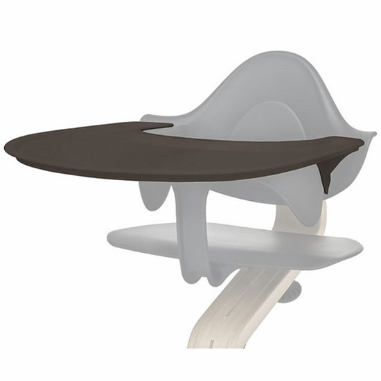Nomi High Chair Tray - Coffee