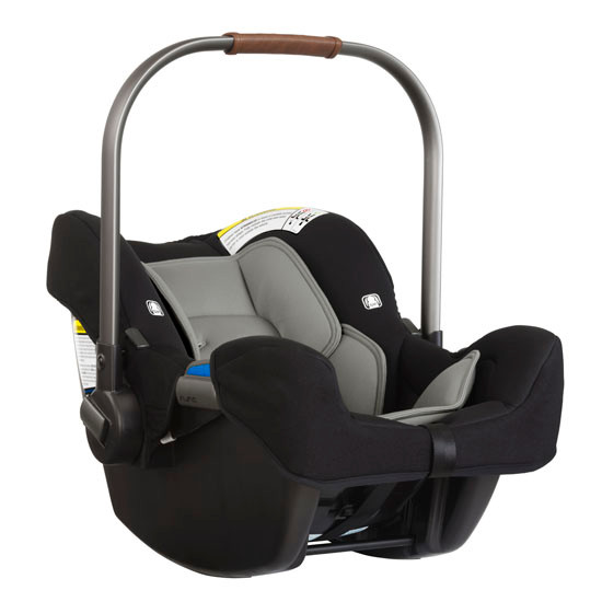 Nuna Pipa 2019 Infant Car Seat - Caviar_thumb3