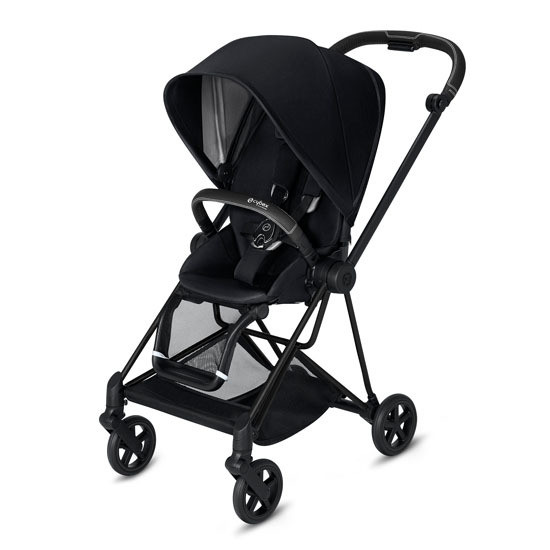CYBEX 2019 MIOS 2 Complete Stroller Matte Black with Black Seat