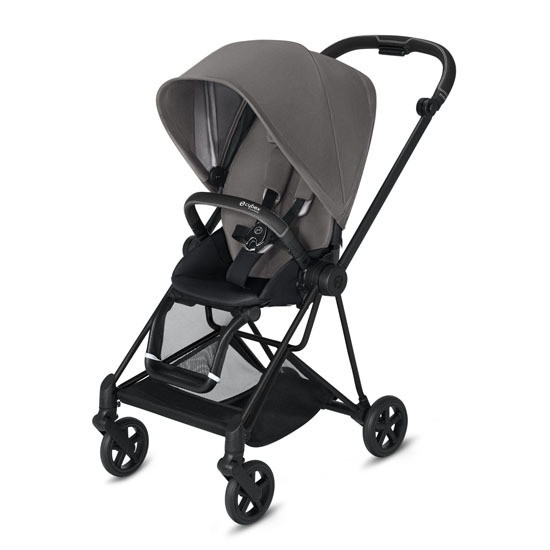 CYBEX 2019 MIOS 2 Complete Stroller Matte Black with Grey Seat
