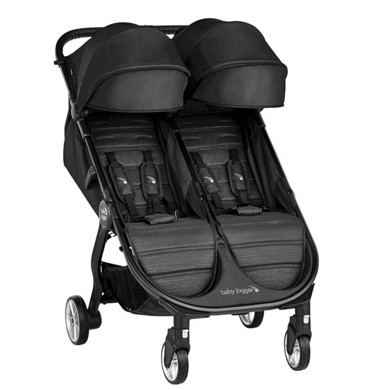 Baby Jogger 2019 City Tour Double Stroller - Jet_thumb1