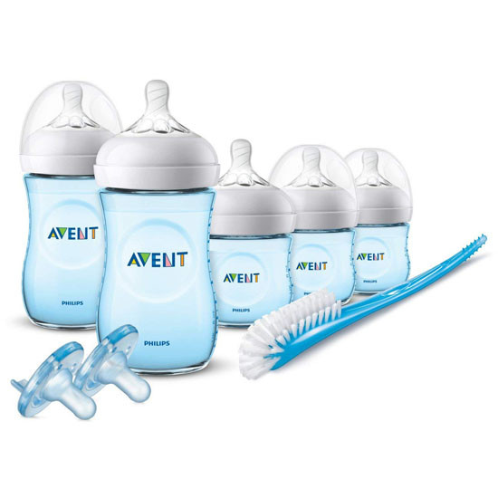 Philips Avent Natural BPA Free Newborn Starter Gift Set - Blue Product