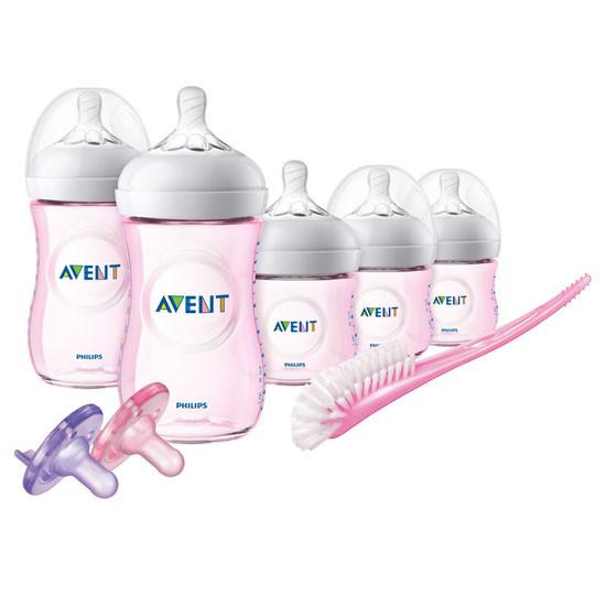 Philips Avent Natural BPA Free Newborn Starter Gift Set - Pink_thumb1