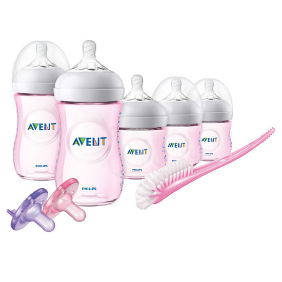 Philips Avent Natural BPA Free Newborn Starter Gift Set - Pink_thumb1