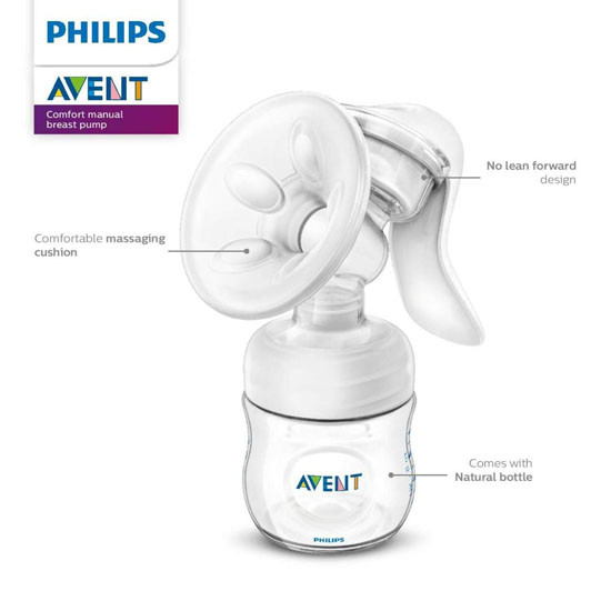 Philips Avent Breast  Pump Manual - Clear