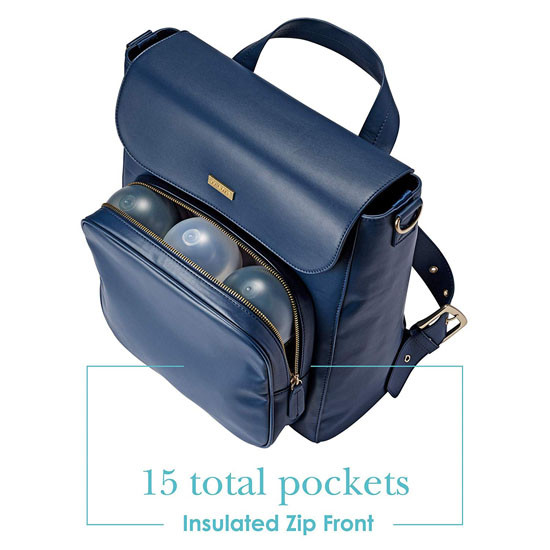 JJ Cole Brookmont Diaper Bag - Navy_thumb4