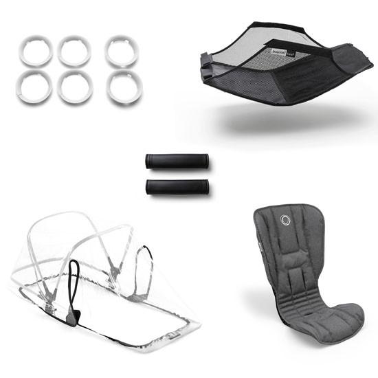 Bugaboo Bee5 Stroller Style Set - Grey Melange