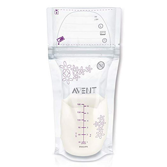 Philips Avent Breast Milk Storage Bags - 6 oz - 50 ct_thumb1