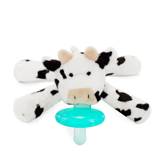 WubbaNub Plush Pacifier - Baby Cow_thumb1