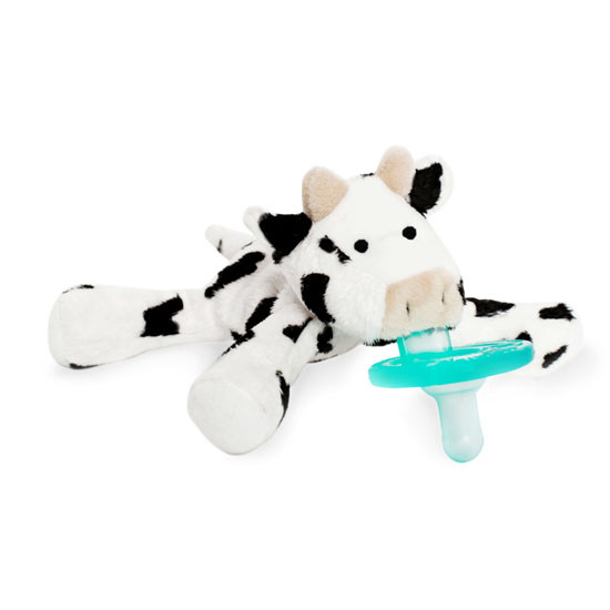 WubbaNub Plush Pacifier - Baby Cow_thumb3