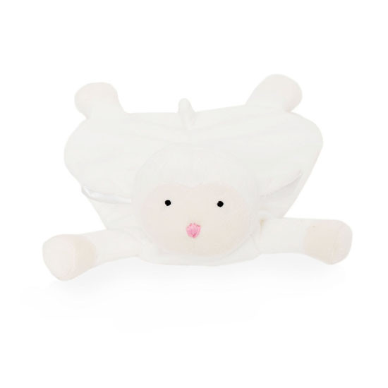 WubbaNub Lovey - White Lamb_thumb1