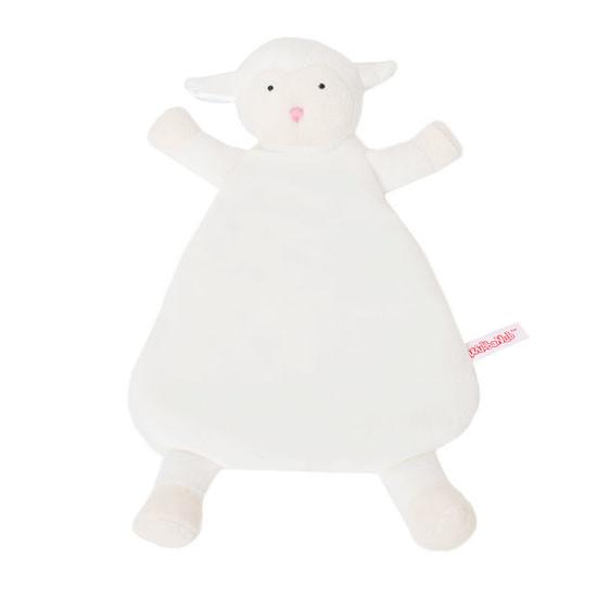 WubbaNub Lovey - White Lamb