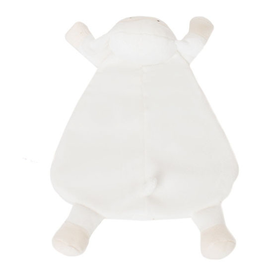 WubbaNub Lovey - White Lamb_thumb3