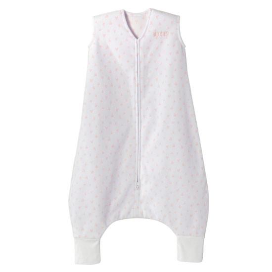 Halo Micro-Fleece Early Walker SleepSack Wearable Blanket - Mini Pink Hearts_thumb1