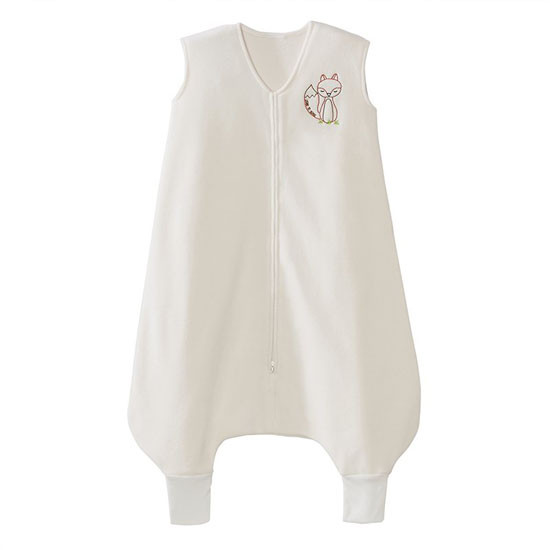 Halo Micro-Fleece Early Walker SleepSack Wearable Blanket - Cream White Fox_thumb1