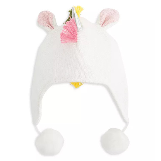 Elegant Baby Aviator Hat - Bright Unicorn Mohawk