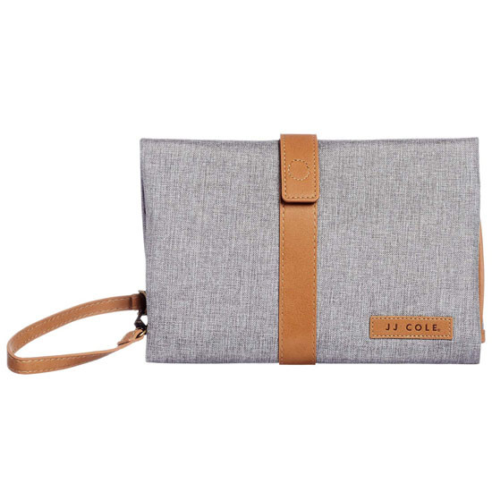 J Cole Changing Clutch - Gray Heather/Tan