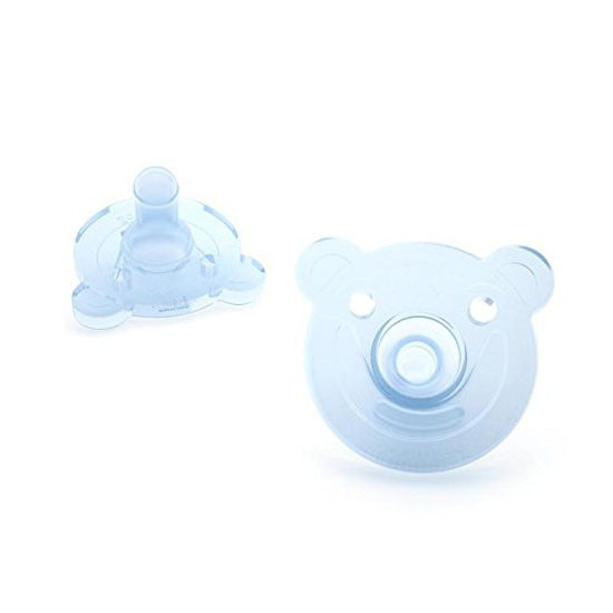 Philips Avent Soothie Bear Pacifier - 0-3 months (2 Pack) Green/Blue_thumb1_thumb2