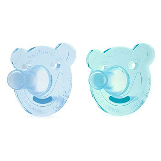 Philips Avent Soothie Bear Pacifier - 0-3 months (2 Pack) Green/Blue_thumb1