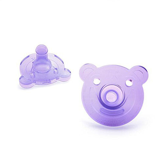 Philips Avent Soothie Bear Pacifier - 0-3 months (2 Pack) Pink/Purple_thumb1_thumb2