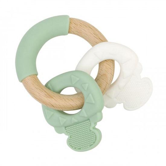 Saro Nature Key Teether - Mint Green